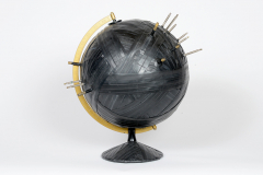 Bound Globe 18 (Yellow Great Circle)