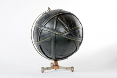 Bound Globe 08 (Yellow Great Circles)